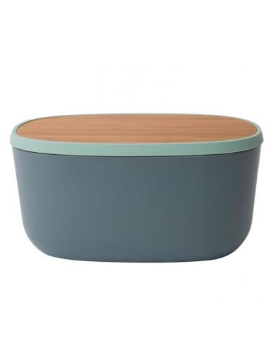 Pojemnik na chleb z pokrywą bambusową 31,5 cm x 21,5 cm x 15 cm