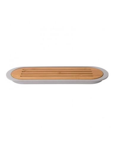 Deska do krojenia pieczywa z tacą