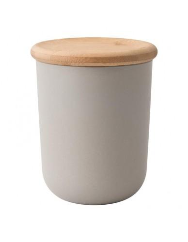 Pojemnik z pokrywą bambusową 11 cm x 13,5 cm